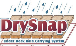 Dry Snap Under Deck Rain Carrying System