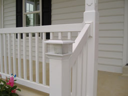 Vinyl Railing And Deck System